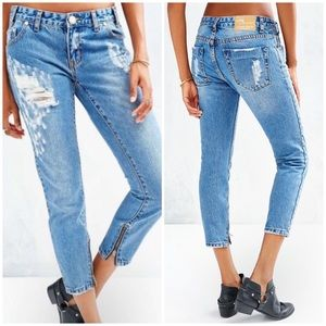 One Teaspoon Trashed Freebirds Jeans 31 Distressed